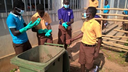 Clean-up at Lanma